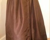 Steampunk Skirt, Josephine Victorian Underskirt, Bustle Skirt, Customisable