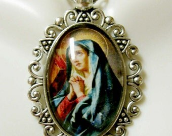 Our Lady of Sorrow necklace - AP26-203