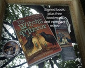 The Witch's Mirror, The Craft, Lore, & Magick of the Looking Glass by Mickie Mueller, Free Bookmark and Compact Mirror Included