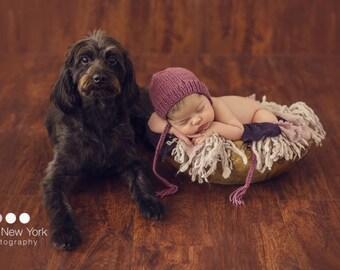 SALE  Newborn photo prop, newborn hat, newborn boy, newborn girl, newborn props Newborn knit bonnet. You can choose from over 50 colors