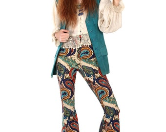 Mantra Paisley Bell Bottoms - 2 Colours Available