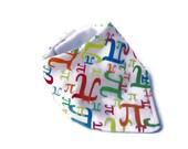 Pi Math Baby Bibdana, bandana bib, scarf bib, drool catcher bib, girl boy gender neutral, Pi Day, Math Baby