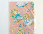 Vintage Wrapping Paper , Gift Wrap , New baby , baby shower , Girls Birthday , Teddy Bear Fairies , Whimsical
