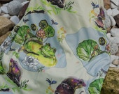 Floral swaddle blanket , Organic Swaddle Blanket  , Organic Baby Blanket,  Receiving Blanket  , Organic Baby Bedding , Baby Gift
