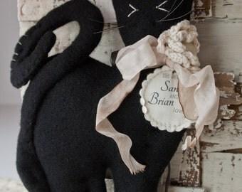 Black Cat Lucky Wedding Charm