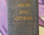 An Anthology of Fables - Aesop and Others - Vintage Book