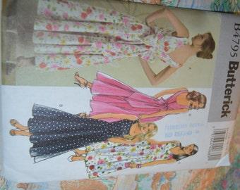 Butterick 4795 Misses Dress Sewing Pattern - UNCUT - Size 14 16 18 20