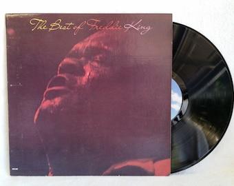 Blues Record - Freddie King - The Best Of Freddie King - 1980 Vintage Vinyl Blues LP