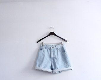Perfect Light Denim 90s Shorts