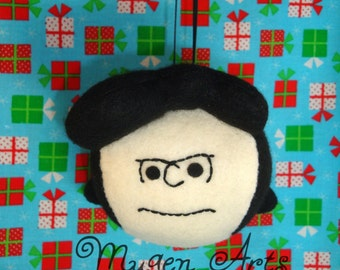 Peanuts Lucy van Pelt Ornament - Free Shipping within the USA