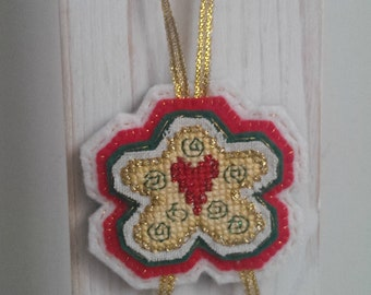 Cross stitch Christmas star
