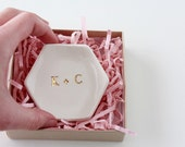 Monogram Ring Dish - Initial Ring Dish - Monogram Gifts - Personalized Gifts - Custom Ring Dish - Wedding Gifts - Personalized Ring Holder
