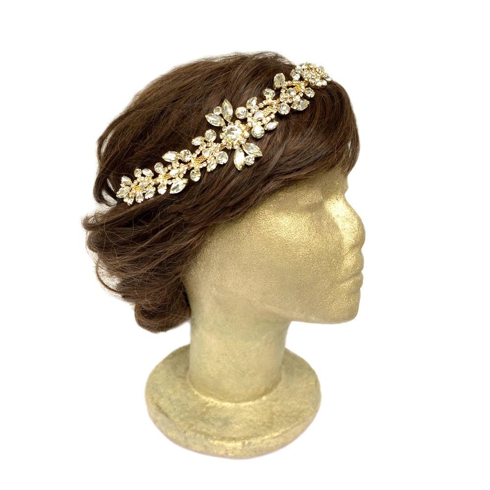 Gold Wedding Hair Accessories Bridal Headpiece Gold Vintage