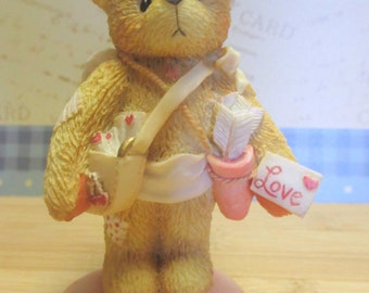 "Cherished Teddy Cupid - ""Sent With Love""  1994 Valentine's Figurine"