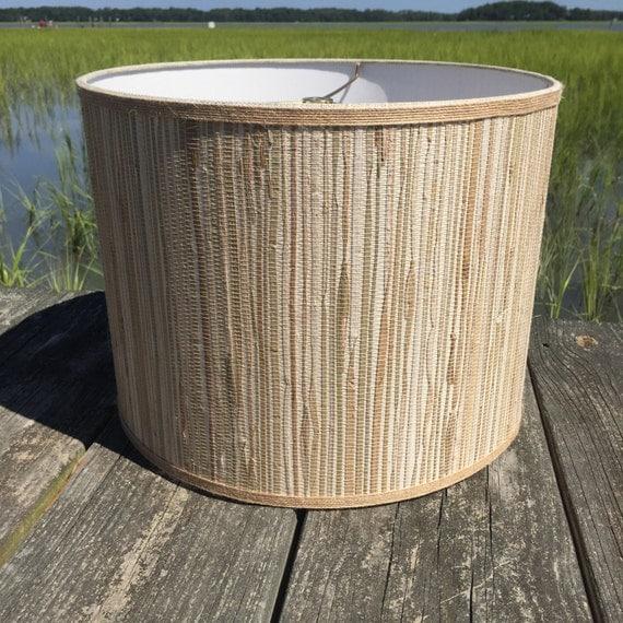 Jute Ceiling Lamp Shade: Drum Lamp Shade Seagrass And Natural Jute Medium Custom