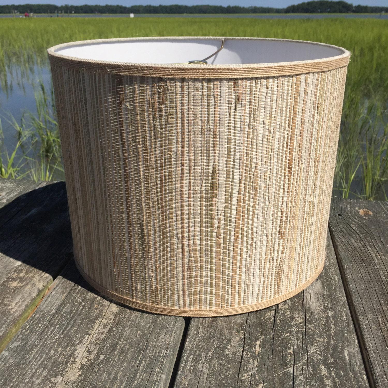 Drum Lamp Shade Seagrass And Natural Jute Medium Custom