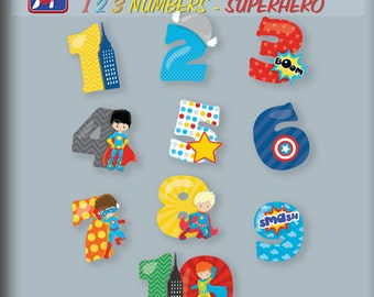 Superhero Wall Decal Etsy - Superhero wall decals for kids rooms
