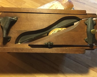 Highly Collectable French Antique Bread or Meat Slicer - an early slice of Kitchen Equipment