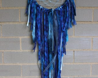 Dreamcatcher - Blue & White - Urban Outfitters, Free People