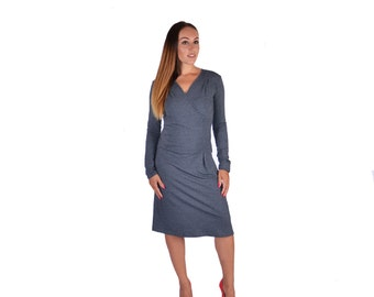 Dress Alexis in anthracite