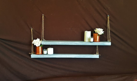 Items Similar To 2 LONG Floating Suspended Reclaimed Wood