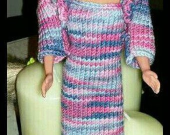 Barbie dress and matching bolero design (10)