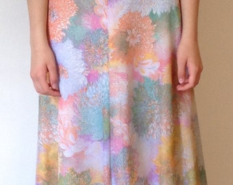 70s bridesmaid ceremony dress