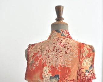 Vintage Floral dress // Wrap Floral dress // DEADSTOCK