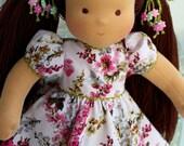 "Waldorf doll - ""Princess new"" -15 inches, doll custom"