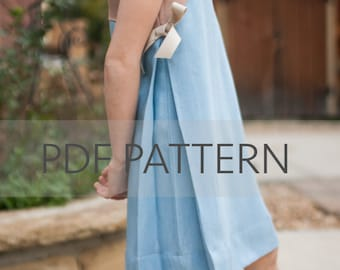 Duchess Dress PDF, dress pattern, girl sewing pattern, dress pdf, girl dress pdf,girl pdf,holiday dress pdf,girl dress pattern,kids pattern