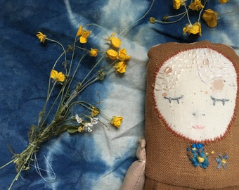 Flower bud Forget me not Doll