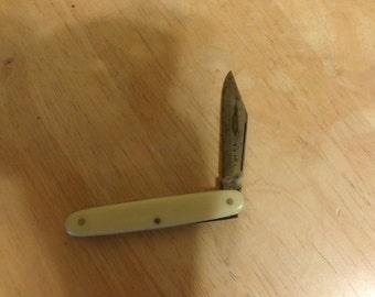 Vintage Imperial pocket knife, Single blade pocket knife, Old Imperial picket knife