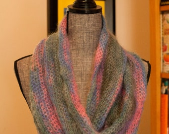 Candytuft Infinity Scarf - luxurious hues!