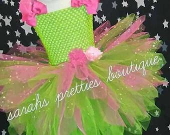 Tinkerbell /fairy tutu dress