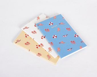 Summer Beach Notebook Journal Diary Set