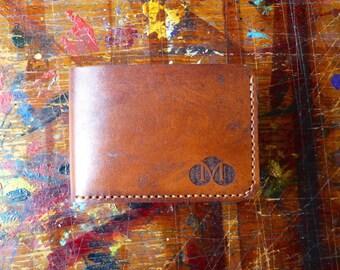 Wallet / Brown / Handmade Leather