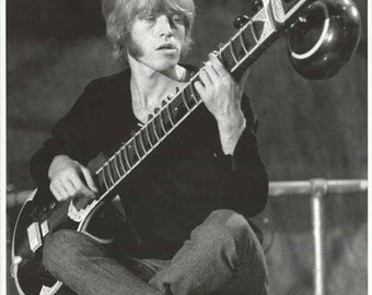 Rolling Stones Brian Jones 1966  Rare Vintage Poster