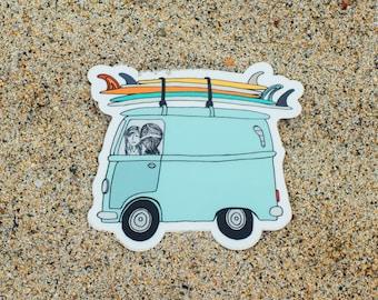 Adventuremobile // Sticker