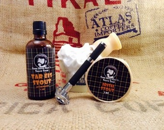 Some Irish Guys Shave Kit Shave Soap Aftershave Razor