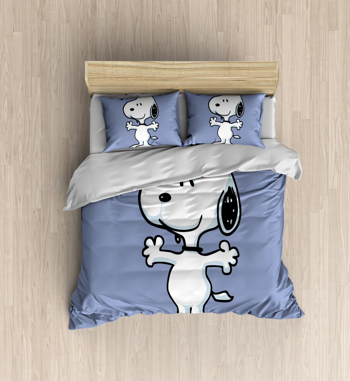 Snoopy Bedding Charlie Brown Bedding Set Snoopy By Designyland