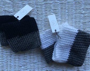 READY TO SHIP Callie Two Toned Boot Cuffs
