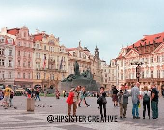 Old Town, Prague Photo Print // FREE SHIPPING