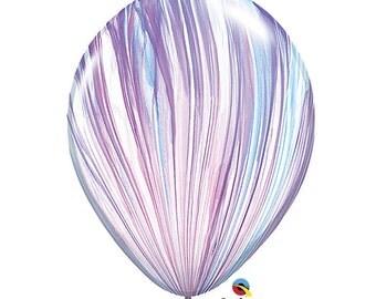 "11"" Fashion Marble Balloons: Frozen, Spring, Wedding, Shower, Birthday, Baby, 1st Birthday, Prom, Graduation, Bachelorette, Decorations"