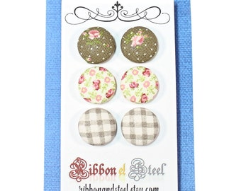 The Wagons & Wildflowers Earring Set