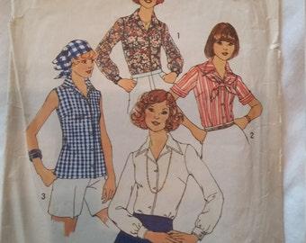Simplicity Pattern 7353 Women's Blouse