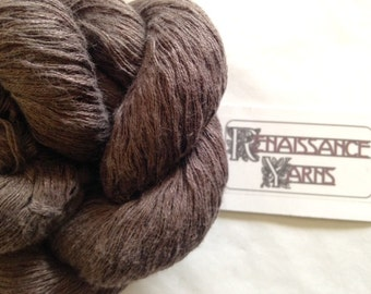 Recycled Linen/Cotton Yarn, Reclaimed 8-ply Sport Weight Yarn, 2,056 yds, 432 grams @ 0.02/yd