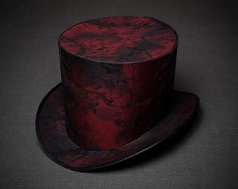 BASIS for making STEAM-PUNK Top Hat Women Mad Hatter Hat Alice in Wonderland Hat Steam Punk Top Hat Tophat Steampunk Hat Men Party Hat