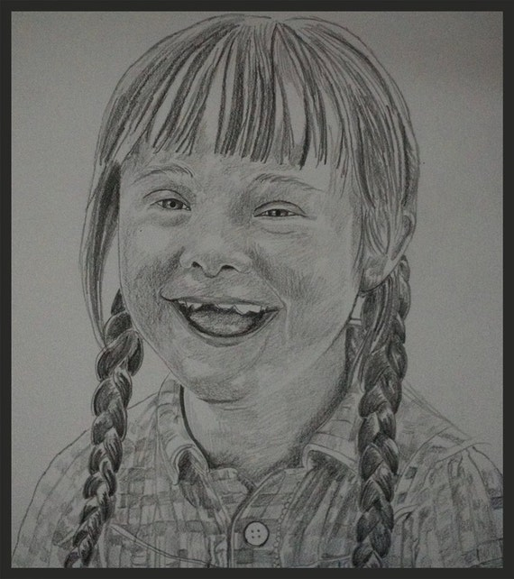 Sketch Custom pencil portrait drawing from photo 25% Sale!. Your memories come to life again in Nica's exquisitely detailed portraits