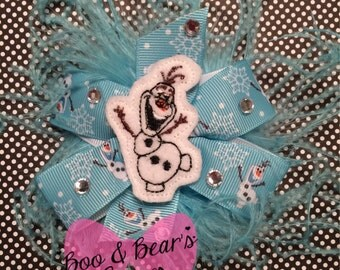 Winter fun hair bows!