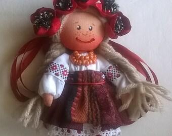 doll in folk costume